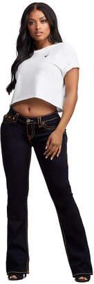 True Religion WOMENS SUPER T BECCA BOOTCUT JEAN