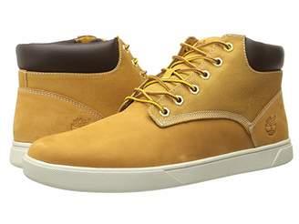 Timberland Groveton Plain Toe Chukka Leather and Fabric Men's Shoes