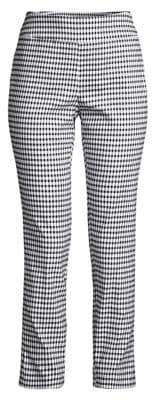 Context Bengaline Checkered Cropped Pants