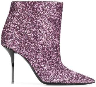 Saint Laurent sequinned ankle boots