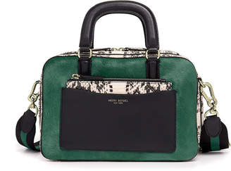 Henri Bendel Rowan Boxy Haircalf Satchel