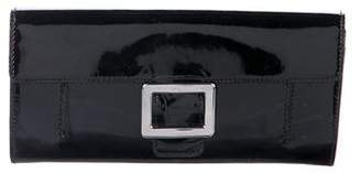 Roger Vivier Patent Leather Continental Wallet