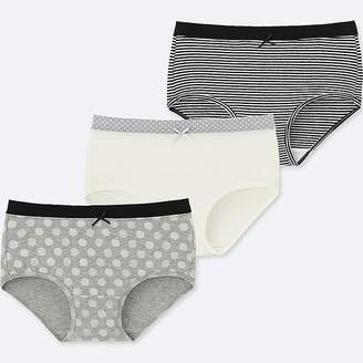 Uniqlo Girl's Shorts (set Of 3)