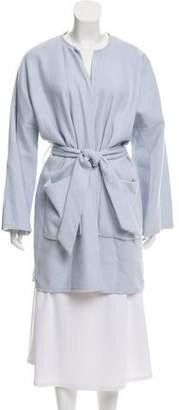 St. Emile Knee-Length Wool-Blend Coat