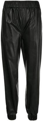 MSGM elasticated waist trousers