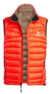 Ralph Lauren Purple Label RLX Packable Down Vest