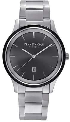 Kenneth Cole New York Men's 3-Hand Date Bracelet Watch, 22mm