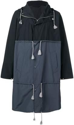 Marni drawstring trench coat