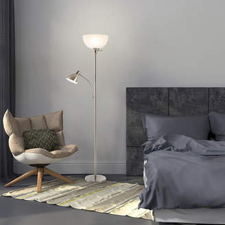 Asstd National Brand Lavish Home Torchiere Lamp with Reading Light