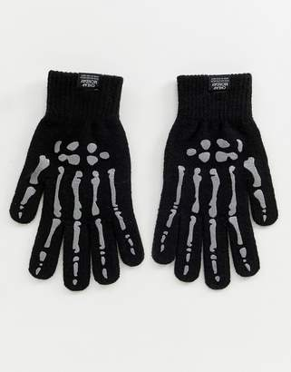 Cheap Monday skull hand magic gloves