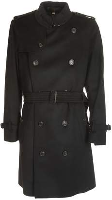 Burberry Buttoned Trench Coat