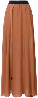 Lost & Found Ria Dunn cut-out side long skirt