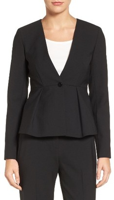 Women's Emerson Rose Peplum Suit Jacket $179 thestylecure.com