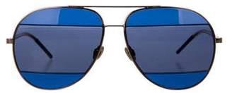 Christian Dior Split 2 Aviator Sunglasses