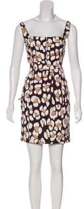 Just Cavalli Printed Mini Dress