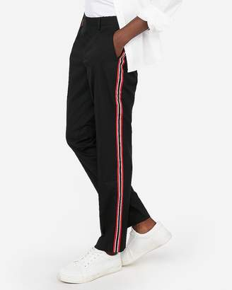 Express Stretch Side Stripe Dress Pant