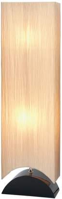 "Uma Wood Floor Lamp 42""H"