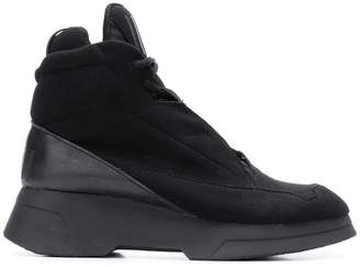 Julius smooth elasticated-front sneakers