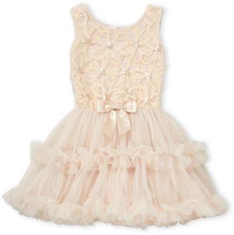 Popatu (Girls 4-6X) Sleeveless Tulle Skirt Party Dress