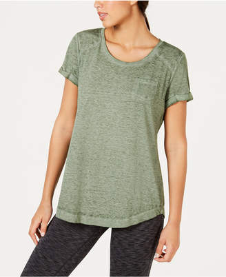 Style&Co. Style & Co Knot-Hem Pocketed T-Shirt