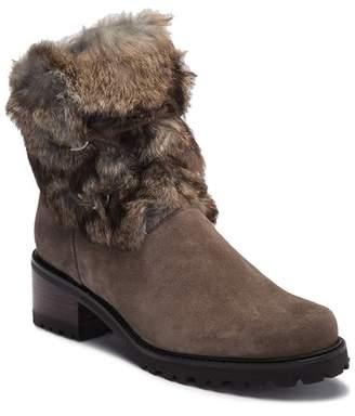 Stuart Weitzman Furnace Genuine Shearling & Genuine Mink Boot - Wide Width Available