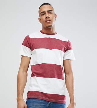 Jacamo T-Shirt In Block Stripe