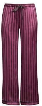 Morgan Lane Chantal Silk Pajama Pants