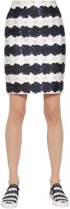 Mother of Pearl Printed Cotton & Silk Blend Skirt
