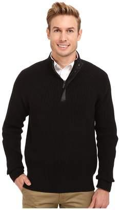 Kenneth Cole Sportswear 1/2 Zip Mock with Coating Men's Sweater