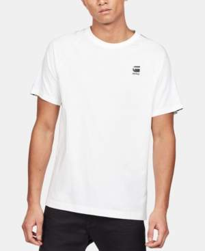 G Star Raw Men's Satur Logo Taping T-Shirt, Created for Macy's
