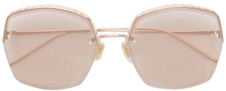 Boucheron square frame sunglasses