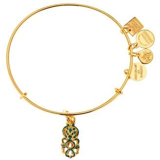 Alex and Ani Charity By Design Octopus Charm Expandable Wire Bangle