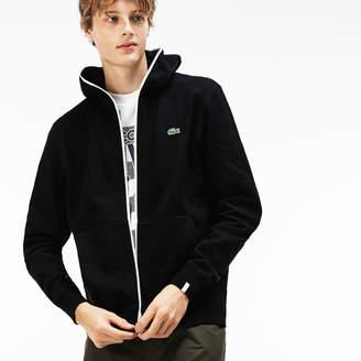 Lacoste Unisex LIVE Hooded Zippered Cotton Sweatshirt