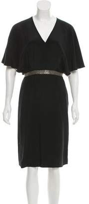Jenni Kayne Embellished Silk Dress