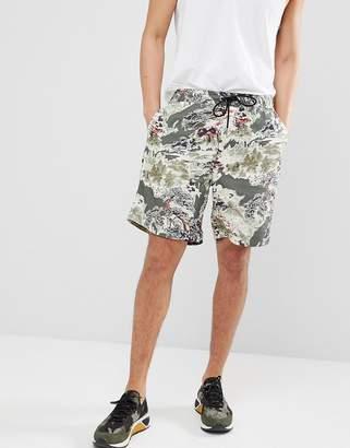 Diesel P-NOTEN Floral Shorts