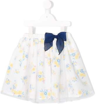Mikihouse Miki House floral print skirt