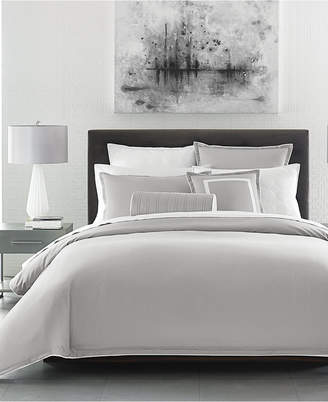 Hotel Collection Contrast Flange Full/Queen Duvet Cover, Created for Macy's Bedding