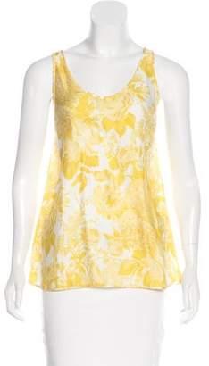 Stella McCartney Floral Print Silk Top