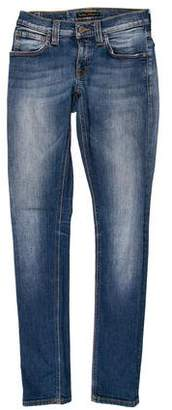 Nudie Jeans Low-Rise Skinny Jeans