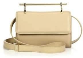 M2Malletier Mini Fabricca Leather Shoulder Bag