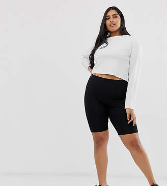 Asos DESIGN Curve basic legging shorts