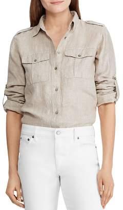 Ralph Lauren Shimmery Button-Down Shirt