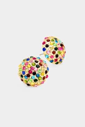 Embellish Rainbow Dome Earrings