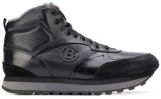 Baldinini lace-up hi-top sneakers