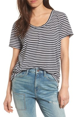 Women's Treasure & Bond Burnout Boyfriend Tee $25 thestylecure.com