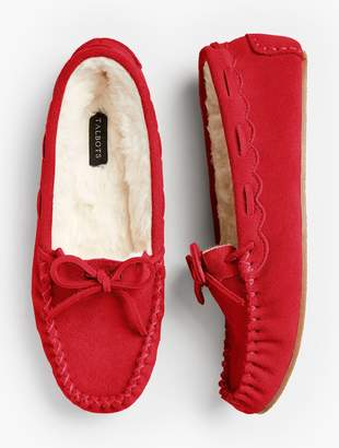 Talbots Ruby Moccasin Slippers