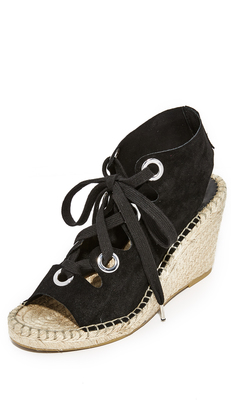 Ash Patty Lace Up Wedges $150 thestylecure.com