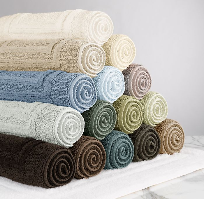Organic Cotton Reversible Bath Rug