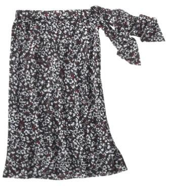 Jockey Floral Silk Skirt