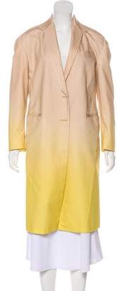 Dries Van Noten Ombré Long Coat